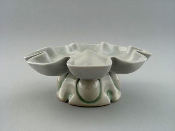 "Devil Egg Dish, 6"" X 10"" X 10"", 2009"