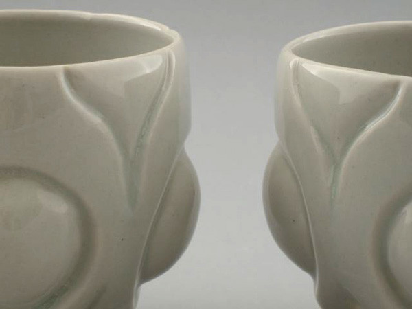 Tea bowls, detail
