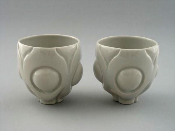 """Tea bowls, 4"""" X 3 ½"""",  2009"""