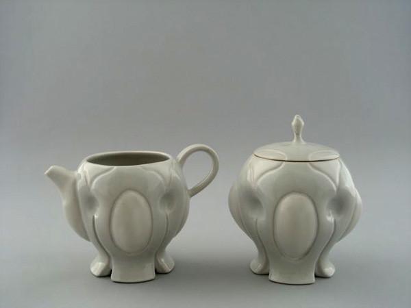 "Cream and Sugar Set,  5 ½"" X 5"" X 4"", 2009"